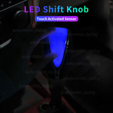 Universal Car Auto Gear Shift Knob LED Light BLUE Color Touch Activated Sensor