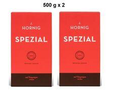 J. Hornig Spezial  -  Kaffee Gemahlen 500g x 2