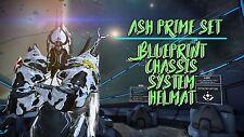 Warframe Ash Prime Set for (PS4) ☆Same Day Trade☆
