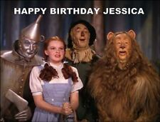 A4 WIZARD OF OZ EDIBLE ICING BIRTHDAY CAKE TOPPER