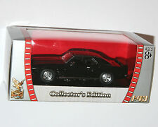 Road Signature - Pontiac Firebird Trans Am (1969) Black - Scale 1:43