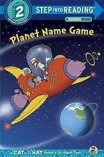 Planet Name Game (Dr. Seuss/Cat in the Hat) by Tish Rabe (Paperback / softback, 2015)