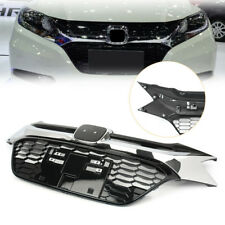 For 2016 2017 Honda HRV 4Dr Modulo Style Grill Front Black Chrome Hood Grille