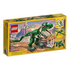 LEGO Mighty Dinosaurs sealed Creator 3 in 1 31058 T Rex Triceratops Pterodactyl