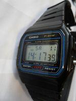 CASIO F 91W DIGITAL WATCH ALARM CHRONOGRAPH LIGHT STOPWATCH WRISTWATCH WATER RES