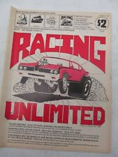 Racing Unlimited February 1984 Catalog Minneapolis Mn Race Car Parts Accessories