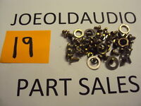 Sansui G3500 Original Chassis Screws. Tested. Parting Out G3500.