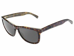 Oakley Frogskins LX Sunglasses OO2043-07 Tortoise Green/Dark Grey