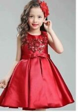 FORMAL KIDS DRESS (AG) Maroon