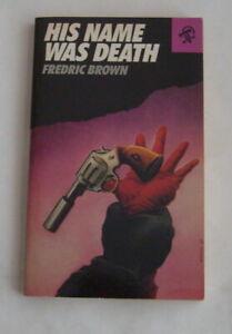 Fredric Brown, His Name was Death, Black Lizard, 1st, 1987, VF
