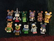 "DISNEY 3"" VINYLMATION PARK 7 SERIES LOT OF 11 FIGURES"