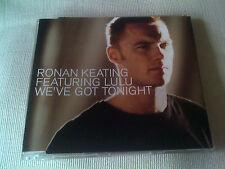 RONAN KEATING / LULU - WE'VE GOT TONIGHT - UK CD SINGLE