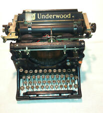 Underwood typewriter no. 5  1920's  HEMINGWAY