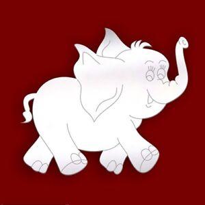 Elephant Acrylic Bathroom Mirror Birthday Wedding Gift PERSONALISED 4 FREE
