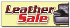 "12"" Leather Sale Decal sticker sofa couch furniture 50% recliner chairs bedding"