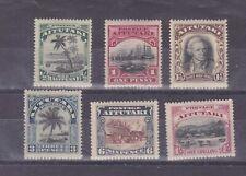 aitutaki 1920 SG 24/9 set        q1730