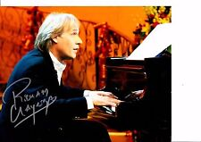 Photo HAND signed by Richard Clayderman 10 X 8 INCH