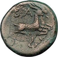 PHILIP V Macedonia King 221BC HERCULES Goats RARE R1 Ancient Greek Coin i21995