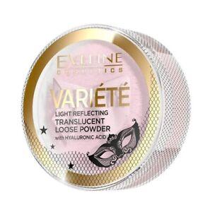 EVELINE Variete sypki puder odbijający światło/ Translucent loose powder