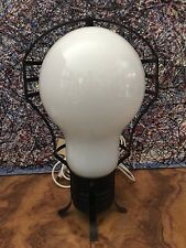 MID CENTURY MODERN POP ART INDUSTRIAL LIGHTBULB LAMP PENDANT NOD TO INGO MAURER