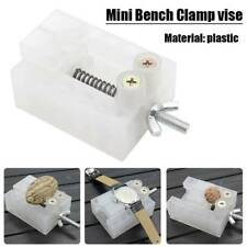 Mini Bench Clamp Micro Drill Press Vice Fixed Clip Flat Vise Carving Holder Tool