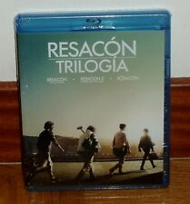 RESACON TRILOGIA THE TRILOGY HANGOVER 3 BLU-RAY NUEVO NEW SEALED (SIN ABRIR) R2