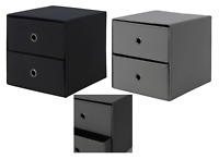 Ikea FLARRA Mini chest with 2drawers 33x38cm Kallax Organiser fits next to DRONA