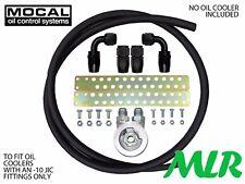 Corsa Astra 2.0 Calibra Mocal -10 Kit de Montaje Radiador De Aceite Manguera Trenzada zqbhbf-M18