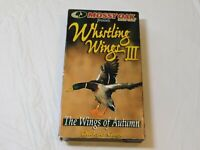 Mossy Oak Whistling Wings III The Wings of Autumn VHS Video Tape 1998