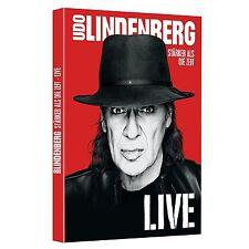 UDO LINDENBERG - STÄRKER ALS DIE ZEIT-LIVE 2DVDs NEU & OVP VÖ 02.12.2016
