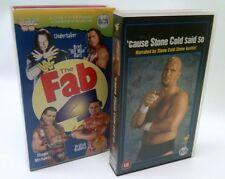 2 x WWF VHS Silver Vision, Cause Stone Said So