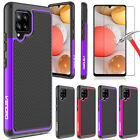For Samsung Galaxy A42 5G Phone Case Shockproof TPU Cover/Glass Screen Protector
