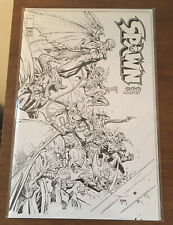 Spawn #300 Cover P Variant Jerome Opena Black & White Image 2019