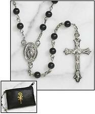 Catholic Rosary + Catholic Italian Medals + Holy Cards + Prayer Books - LOT OF 5