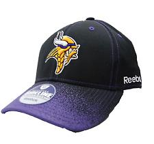c3bd773b9 Minnesota Vikings Reebok Tm40z Spray Bill NFL Team Logo Football Cap Hat