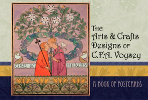 Book: The Arts & Crafts Designs of C.F.A. Voysey, A Book of Postcards