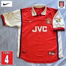 Original Arsenal Football Shirt VIEIRA (M) 1998 Vintage Genuine Nike Jersey