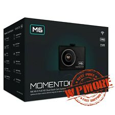 Firstech Momento MD 6200 M6 Dual DashCam Front Back Wi-Fi Camera HD DVR GPS