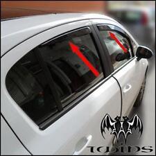 4 Deflettori Aria Antiturbo Oscurati Opel Corsa D E 5p Anche restyling e Nuova E