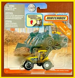 Matchbox 2019 Real Working Rigs. New Holland Bidirectional Tractor. GBK05