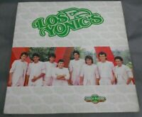 LOS YONIC'S -DISCO POSTER-  MEXICAN LP COMPLETE WITH MAGAZINE GRUPERO