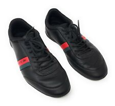 Lacoste Storda 318 1 Men's Casual Leather Loafer Shoes Sneakers, Black, Size 8.5