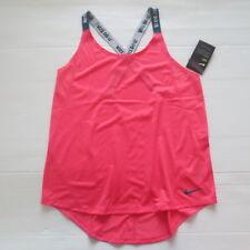 Nike Women Elastika Tank Top - 921725 - Pink 823 - Size XS - NWT