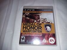 ✔   PS3 MEDAL OF HONOR: WARFIGHTER PROJECT HONOR ED.  In Box   Very Good Cond
