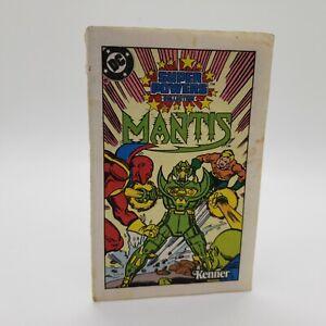 Vintage Mantis 1984 Kenner DC Comics Super Powers Original Action Figure