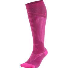 NIKE Elite Graduated Compression OTC Running Socks Large (10-11.5) Pink