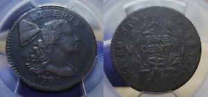 1794 Liberty Cap Large Cent 1c PCGS Genuine Fine Details Head of 94