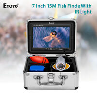 Eyoyo 7 Inch Color Screen 15M Underwater Fishing Camera 1000TVL for Lake Sea Ice