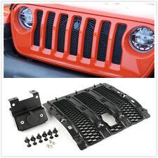 Hood Lock Kit For 2018 Jeep Wrangler JL/Unlimited 2 Door 4 Door Black