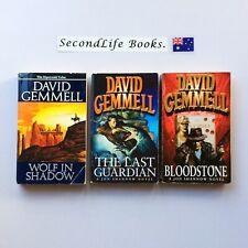 THE JON SHANNOW Trilogy (aka Sipstrassi Tales: Jerusalem Man ~ David Gemmell. H